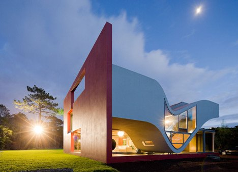 Rumah Futuristik