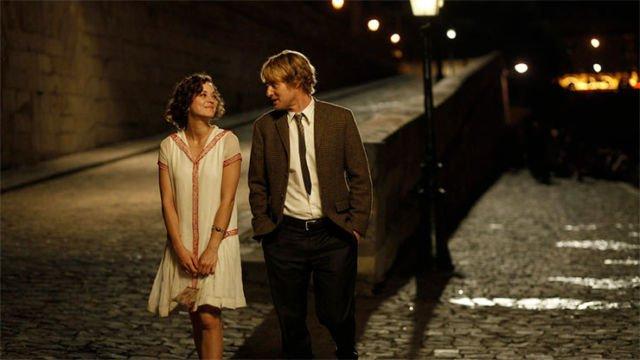 romantic film scene