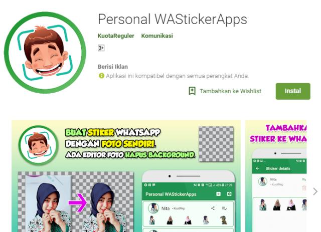 Simpel 5 Langkah Bikin Sticker Whatsapp Dari Gambar Sendiri