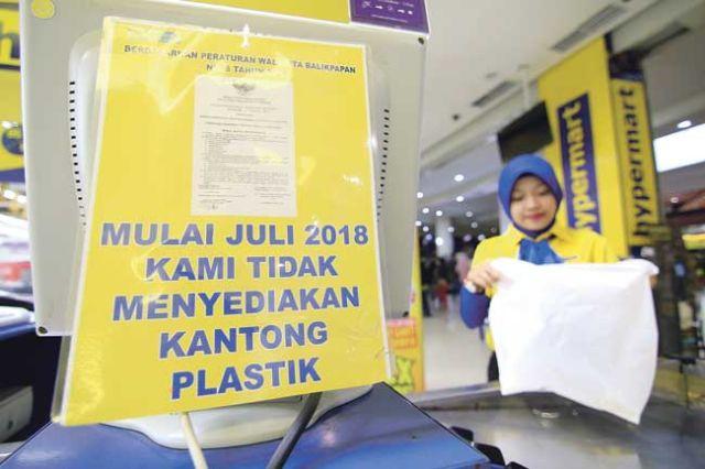Pengurangan Penggunaan Kantong Plastik di Balikpapan