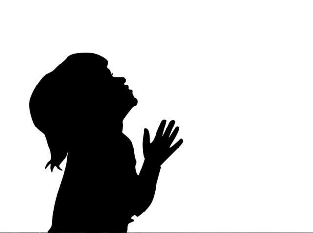 gambar anak berdoa