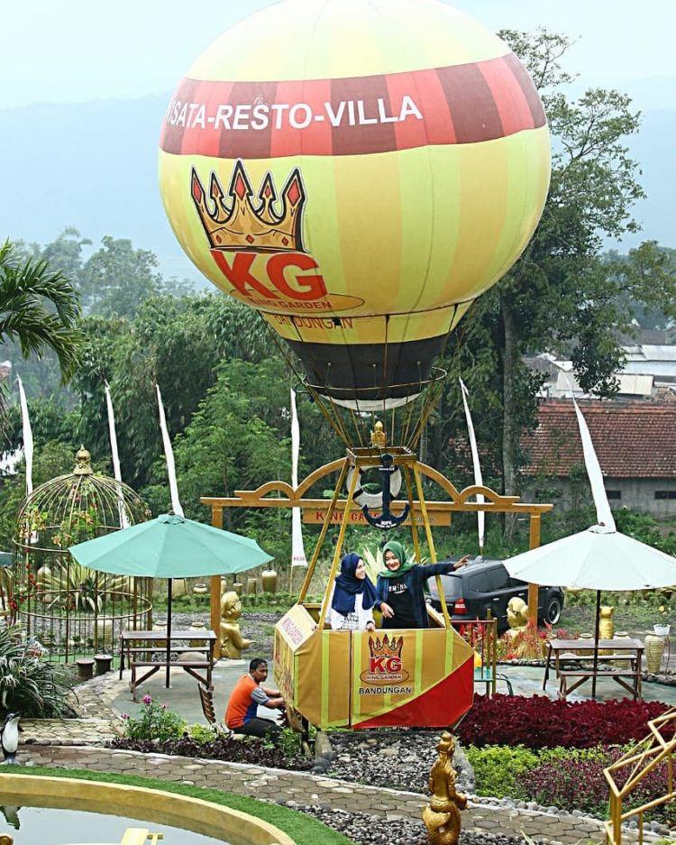 King Garden Bandungan Destinasi Wisata Baru Di Semarang