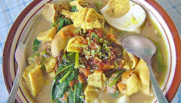 Soto Rujak kuliner yang unik