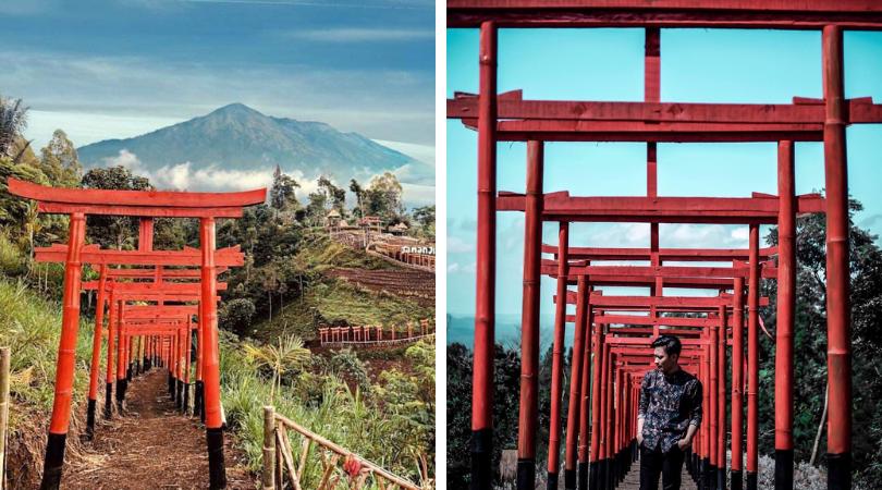 Taman Jinja, Wisata Bernuansa Jepang di Bali. Serasa