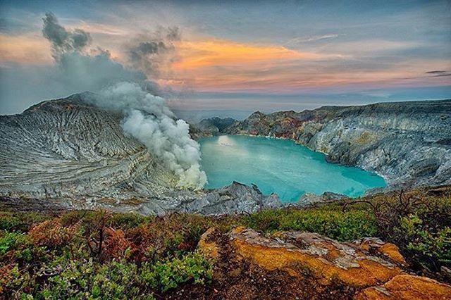 Gunung Ijen Dengan Blue Fire nya