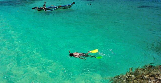 Serasa berenang di Maldives