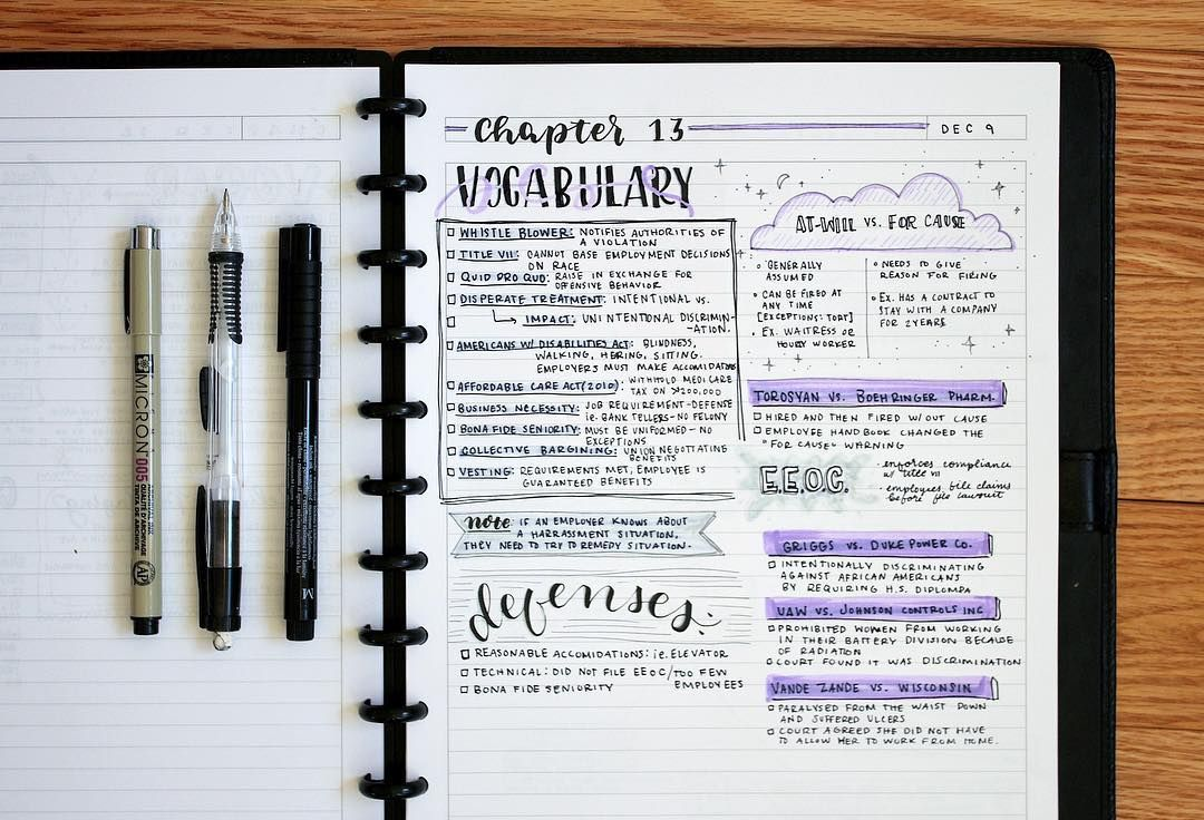 7 Trik Bikin Catatan Estetik Ala Studyblr Lebih Enak Dibaca Belajar Pun Makin Semangat