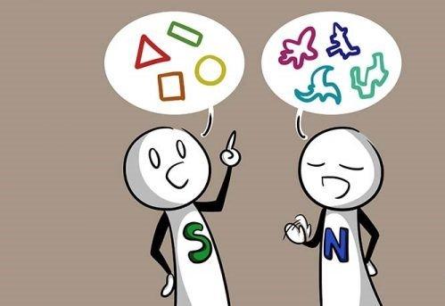 Sensing vs. Intuitive