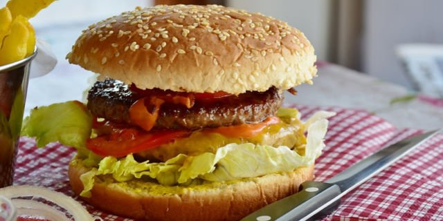 Junk Food - Hamburger