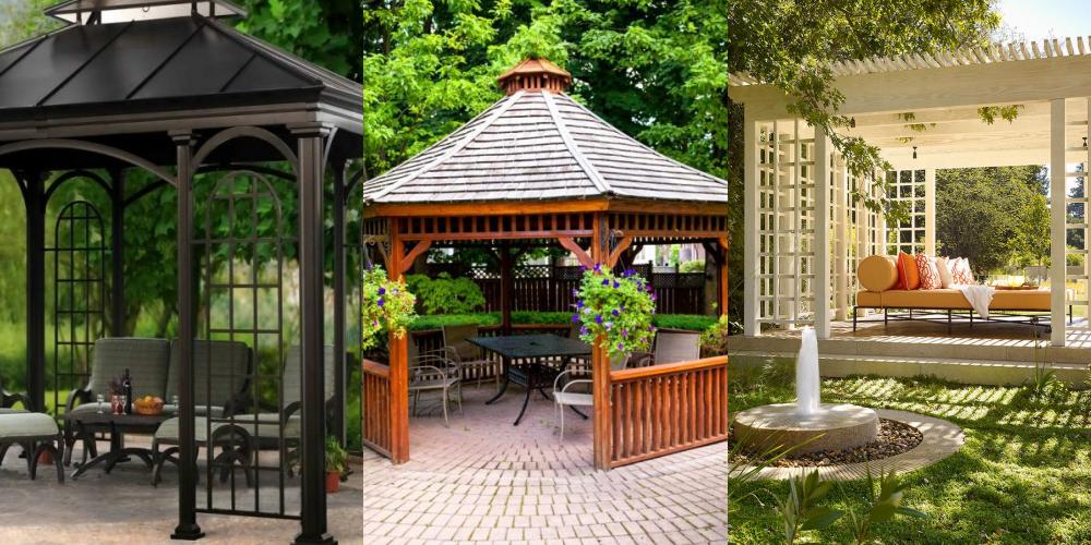 64 Koleksi Desain Taman Belakang Dengan Gazebo Gratis Terbaru