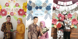 12 inspirasi paper flower untuk latar dekorasi acara