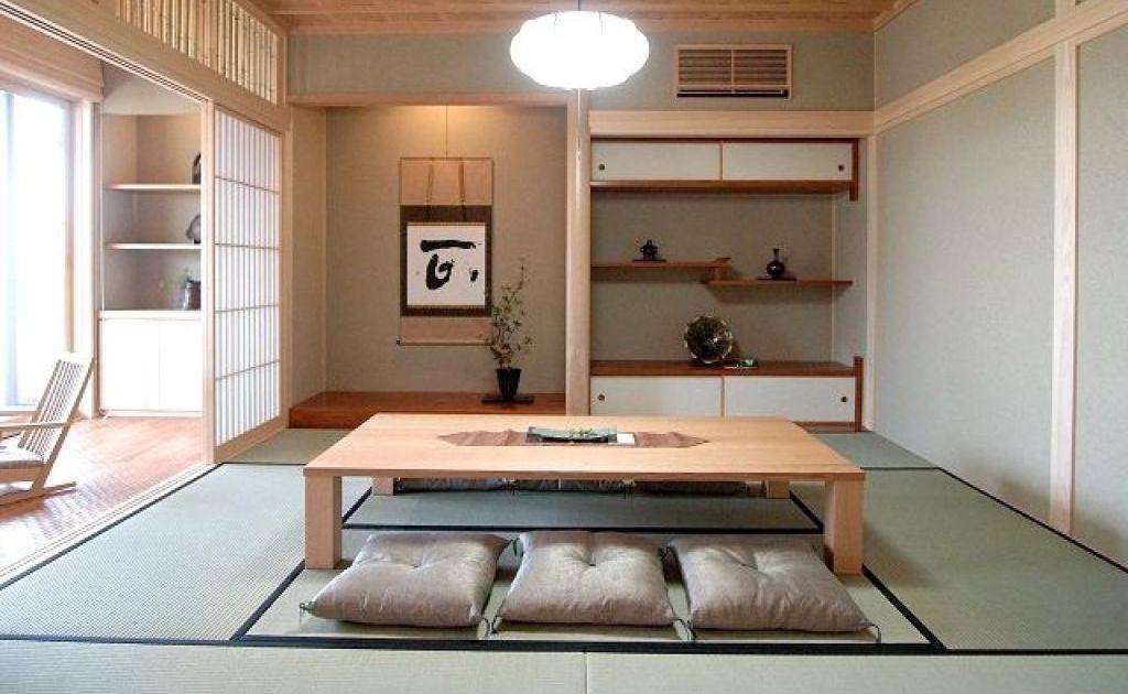 12 Desain Ruang Tamu Duduk Di Lantai Ala Jepang Yang Sederhana