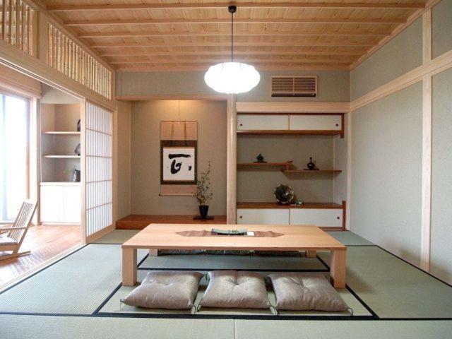 12 Desain Ruang Tamu 'Duduk di Lantai' ala Jepang yang ...