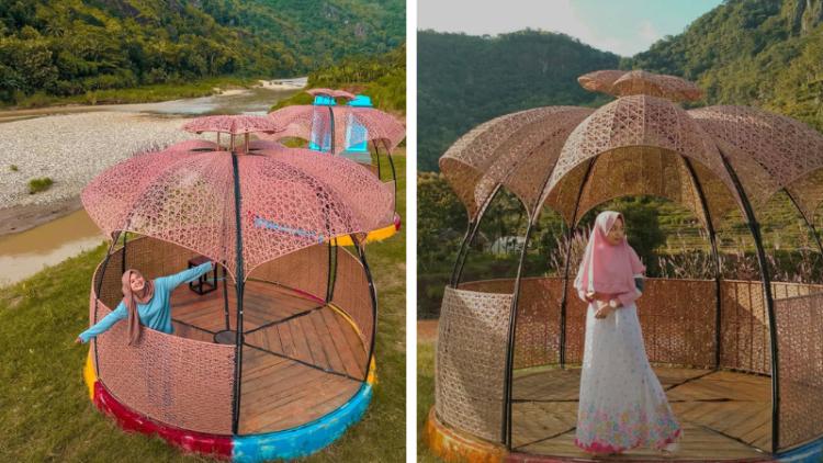 wisata outdoor jogja Gardu Pandang Lemah Rubuh Destinasi Hits Di Tepian Kali Oya