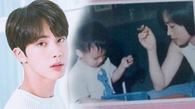 Jin BTS dan Ibunya