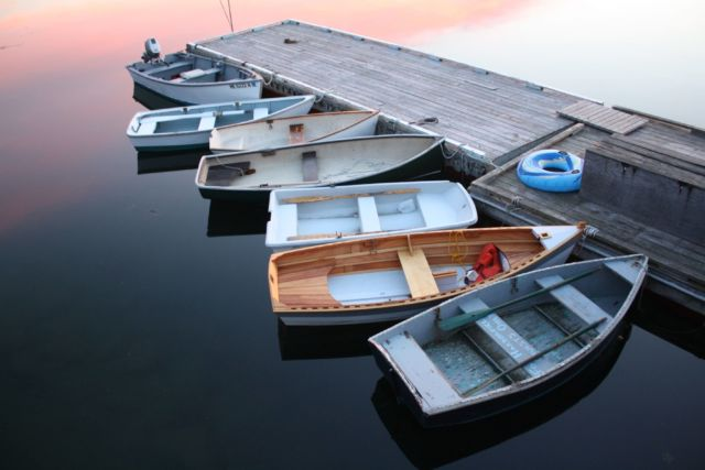 Sampan nelayan