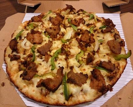 Pizza Rendang
