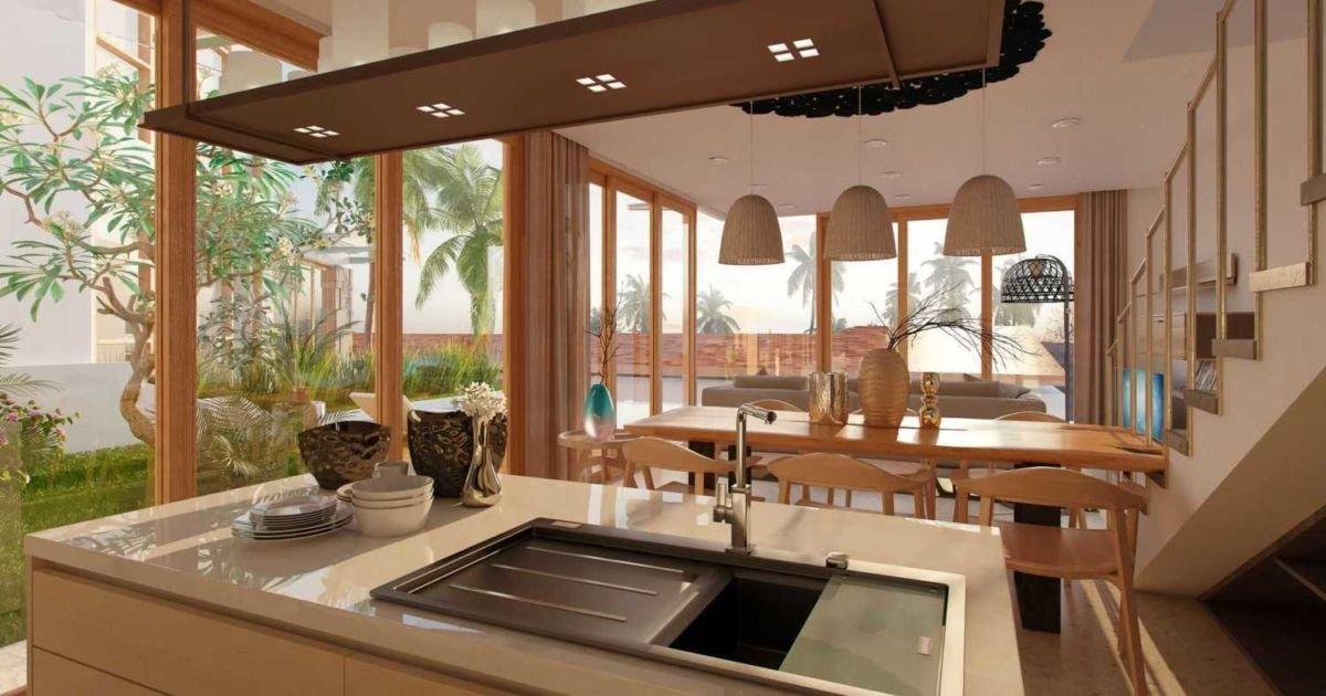 Inspirasi Desain Dapur Semi Outdoor Bikin Masak Di Rumah Makin Asyik