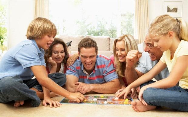 Manimkati waktu bersama keluarga
