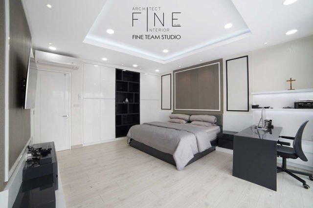 Kamar tidur cowok Permata Buana Residence di Jakarta karya Fine Team Studio