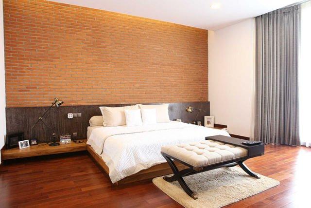 Kamar tidur cowok Tanjung Duren Villa di Jakarta karya Fabelio.com