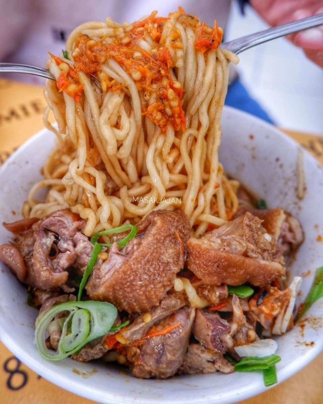 Mie Ayam Pecok 789 - Photo by Masak jajan