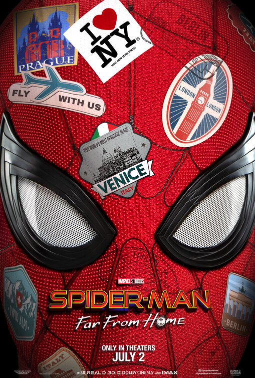 Poster Resmi Spider-Man: Far From Home