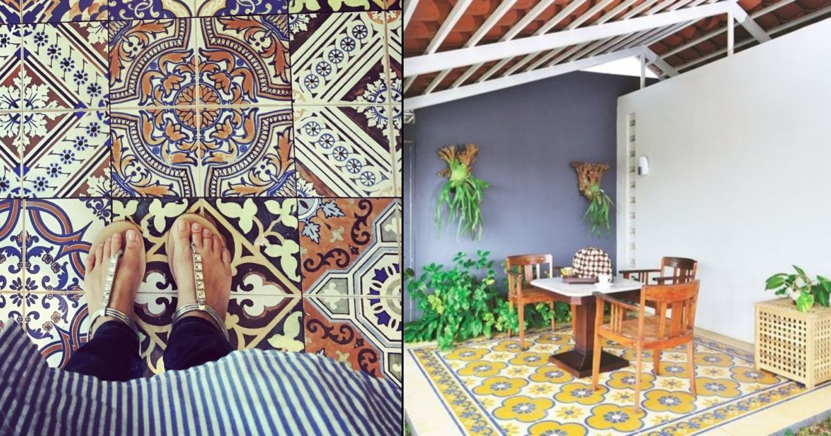 Melirik Keunikan 12 Interior Rumah Berhiaskan Ubin Etnik Tampak