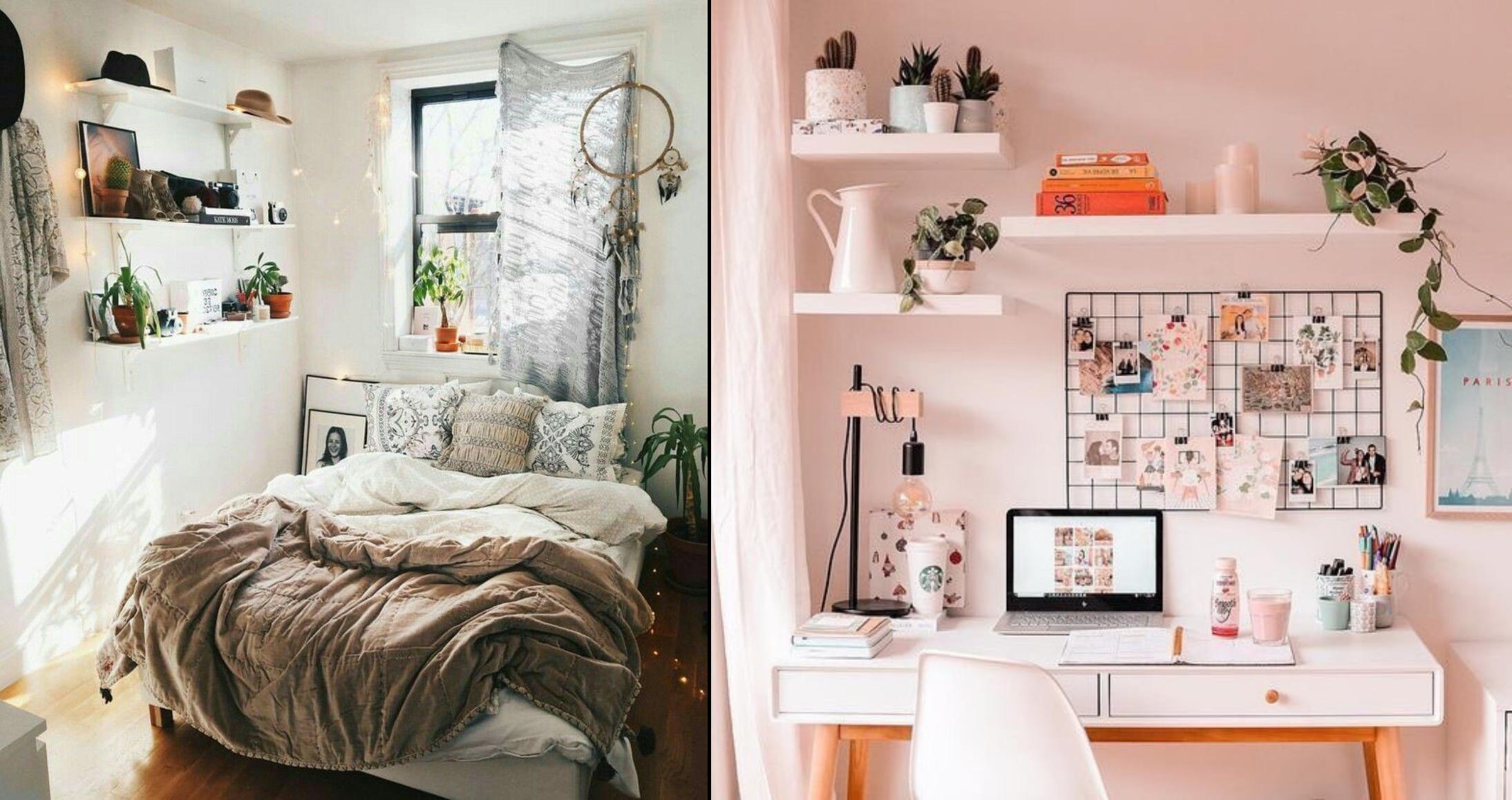 10 Ornamen Simpel Harga Bersahabat Untuk Menghias Kamar Ala Pinterest Estetis Banget