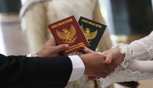 Sederhana, tanpa mengurangi kesakralan pernikahan