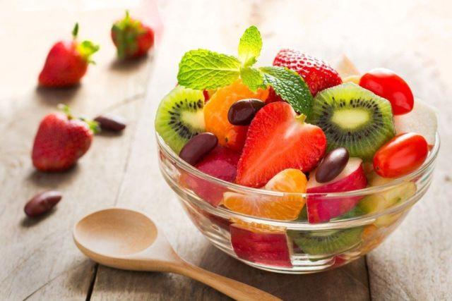 sarapan sehat dengan buah dan sayur