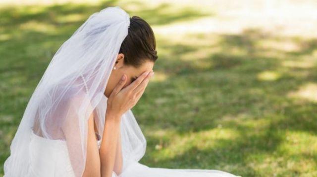 Pengantin menangis