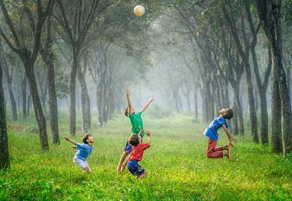 Jiwa anak - anak itu cenderung bebas~