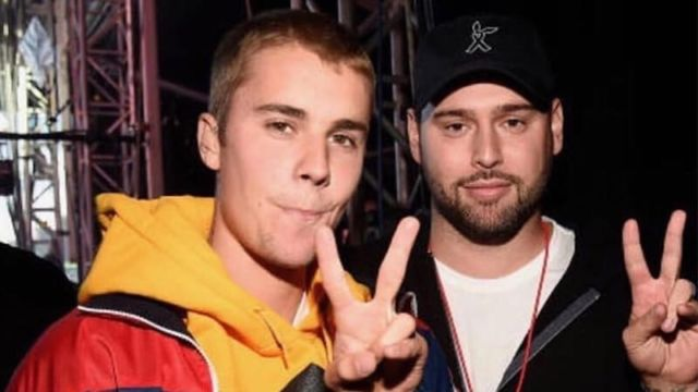 Justin Bieber dan Scooter Braun