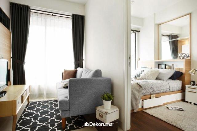 Ruangan dengan Furnitur Multifungsi