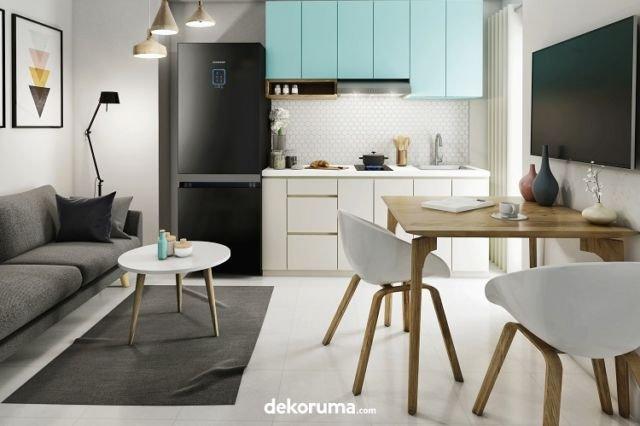 Dapur dan Ruang Makan Skandinavia