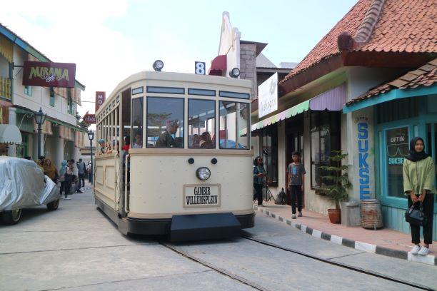 Kereta sebagai salah satu objek wisata - Dok. Pribadi
