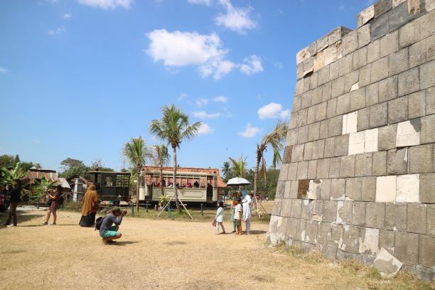 Istana yang dapat disaksikan pada trailer film Sultan Agung: The Untold Love Story