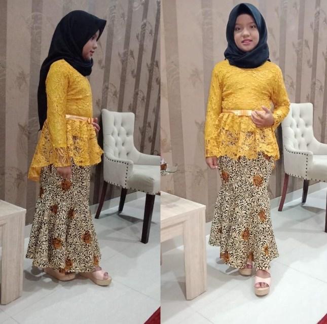 Foto Model Baju Pesta Anak Bahan Brokat / 6 Tren Model ...