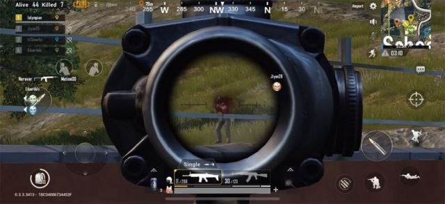 PUBG-Mobile-aiming-improve-without-keyboard-mouse