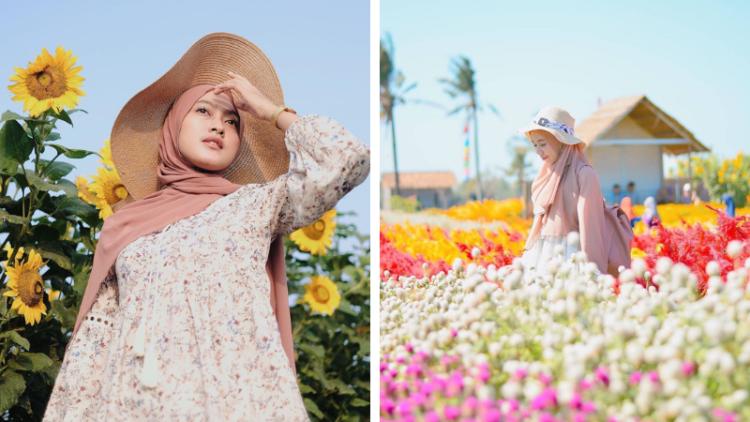 Romantic Garden Taman Bunga Warna Warni Yang Lagi Hits Di Bantul