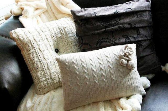 Kain Bekas untuk Pelapis Bantal Sofa