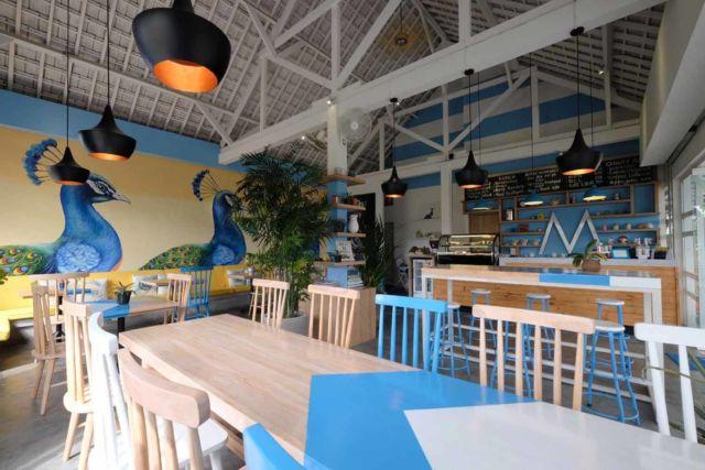 Desain kafe Moya di Bandung karya MANON DESIGN STUDIO