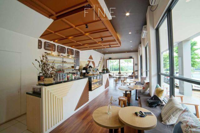 Desain kafe Kokolait Chocolate di Tangerang karya Fine Team Studio