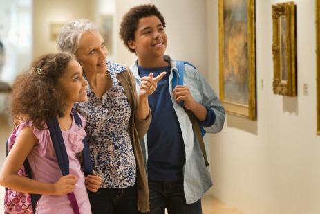 Liburan bareng keluarga ke museum