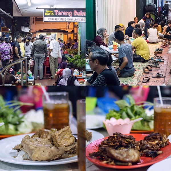 Suasana Lesehan Terang Bulan - Photo by Streetfood Stories