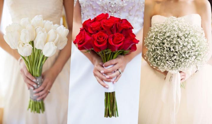 10 Ide Buket Pernikahan Mono Floral Yang Elegan Kata Siapa Tampil Memukau Harus Ramai