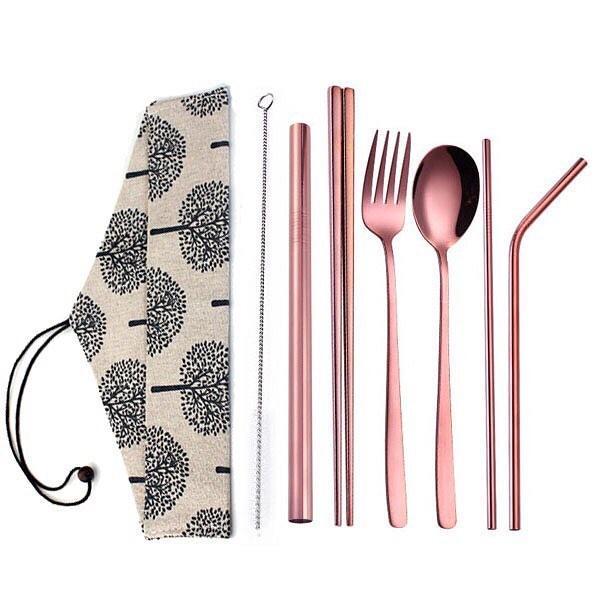 peralatan makan stainless