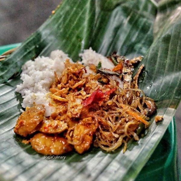 Sajian Nasi Langgi - Photo By Jogja Culinary