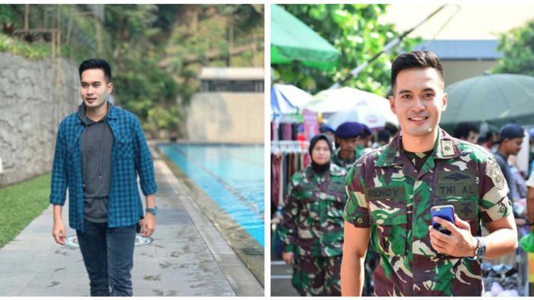 Vakum dari Dunia Hiburan, Rendy Meidiyanto Eks Ganteng-Ganteng Serigala  Kini Jadi TNI. Gagah!